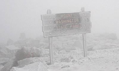Photograph - Mount Washington State Park October Seventh by Brian Hoover