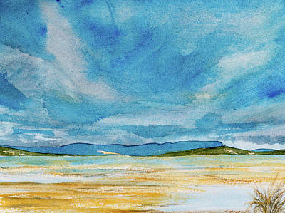 Painting - View Of Mount Wellington From South Bruny Island by Dorothy Darden