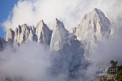 Mount Whitney Art Print by Greg Clure