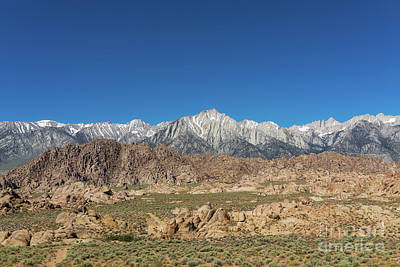 Photograph - Mount Whitney  by Michael Ver Sprill