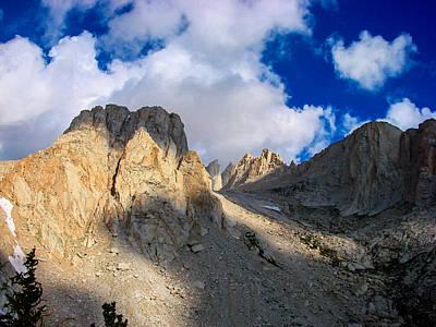 Eastern Sierra Photograph - Mount Whitney Trail by Scott McGuire