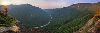 Photograph - Mount Willard Sunrise Panorama by Chris Whiton