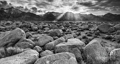Mount Williamson From Manzanar Art Print