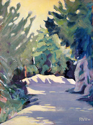 Mount Wilson Painting - Mount Wilson Trail by Richard  Willson