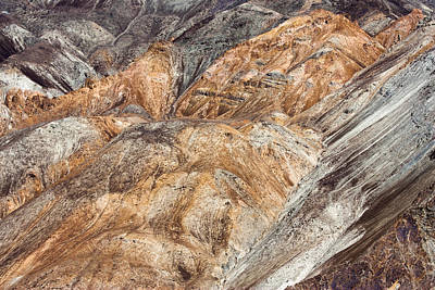 Photograph - Mountain Abstract 7 by Hitendra SINKAR