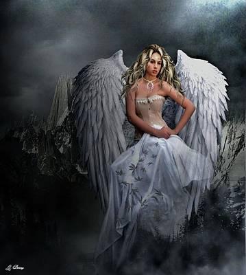 Fantasty Photograph - Cassandra's Angel 006 by G Berry