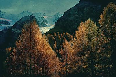 Photograph - Mountain Autumn by Vittorio Chiampan