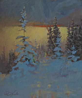 Mountain Awakening Art Print