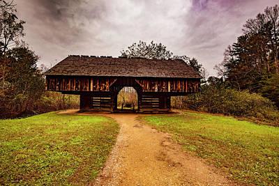 Photograph - Mountain Barn by Steven Ainsworth