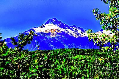 Photograph - Mountain Beauty by Rick Bragan