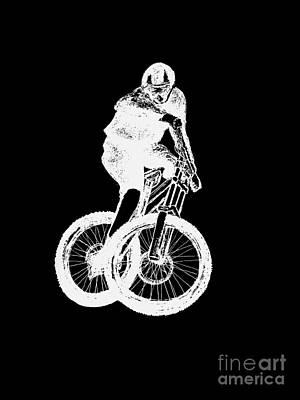 Brakes Mixed Media - Mountain Biking Mtb by Gordon Lavender