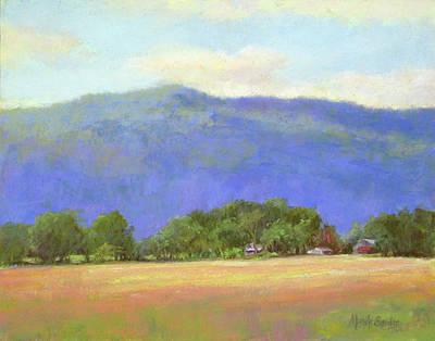 Painting - Mountain Blue by Marsha Savage