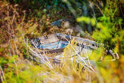 Photograph - Mountain Boat by Jody Lane