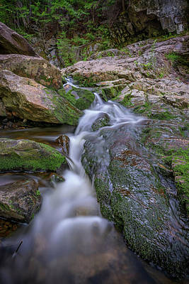 Photograph - Mountain Brook Cascade by Rick Berk