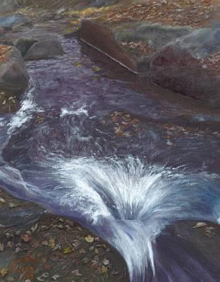Mountain Brook Art Print by Laurel Ellis
