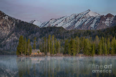 Photograph - Mountain Cabin by Idaho Scenic Images Linda Lantzy