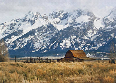 Photograph - Mountain Cabin by Sharon Foster