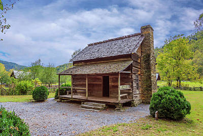Photograph - Mountain Cabin by Tim Stanley
