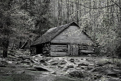 Photograph - Mountain Cabin by Van Sutherland