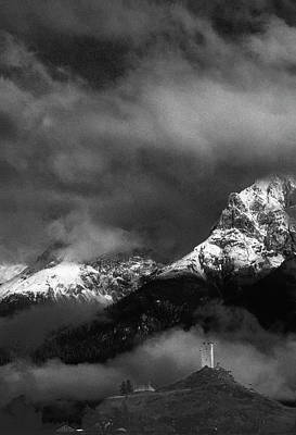 Photograph - Mountain Castle  by Peter V Quenter