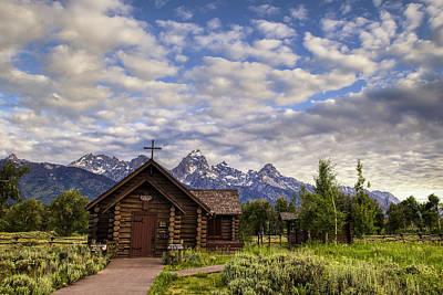 Teton Wall Art - Photograph - Mountain Chapel by Andrew Soundarajan