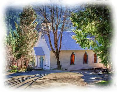 Photograph - Mountain Chapel by Steph Gabler