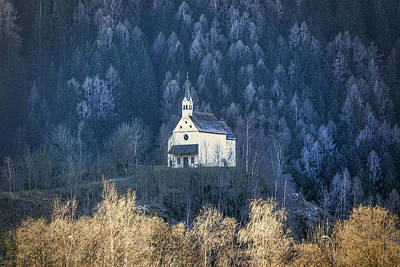 Photograph - Mountain Church by Roberto Pagani