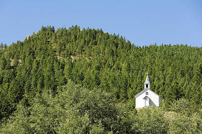 Congregation Photograph - Mountain Church by Todd Klassy
