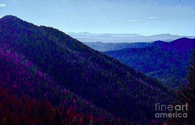 Photograph - Mountain Color Vistas by Jennifer Lake