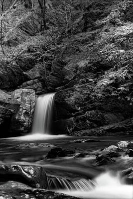 Photograph - Mountain Creek In Black And White by Greg Mimbs