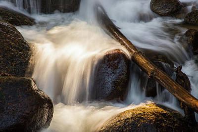 Target Project 62 Abstract - Mountain Creeks Flowing Waters by Tony Hake
