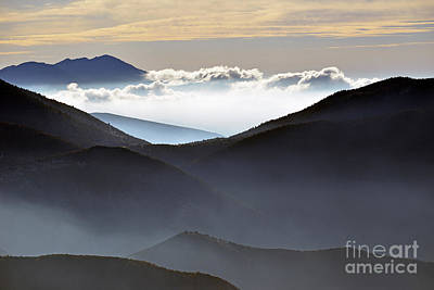 Photograph - Mountain Crests by George Atsametakis