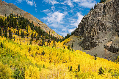 Photograph - Mountain Divide by Michael Blanchette
