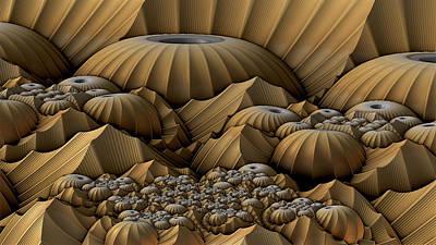 Mountain Domes Art Print