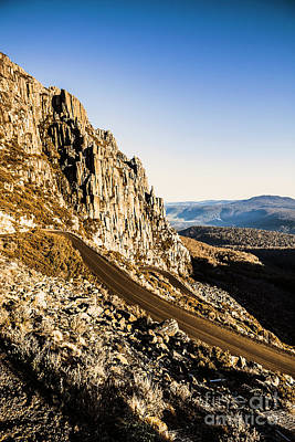 Rural Photograph - Mountain Drive by Jorgo Photography - Wall Art Gallery