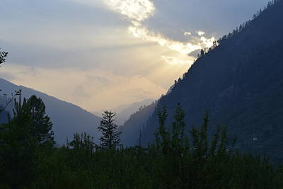 Photograph - Mountain Escapapde by Sumit Mehndiratta