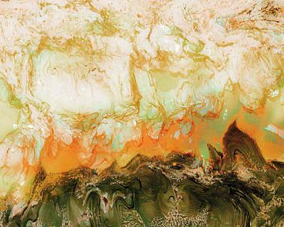Mountain Flames II Art Print by Paul Tokarski