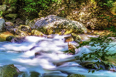 Photograph - Mountain Flow by Barry Jones