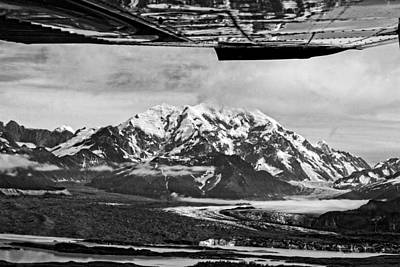 Photograph - Mountain Flying Alaska by Waterdancer
