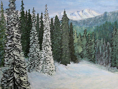 Painting - Mountain Foothills by Jim Justinick