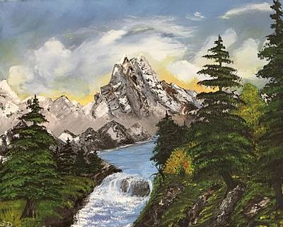 Painting - Mountain Fresh  by Sharon Duguay