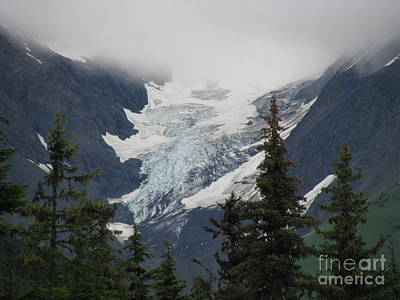 Mountain Glacier Art Print