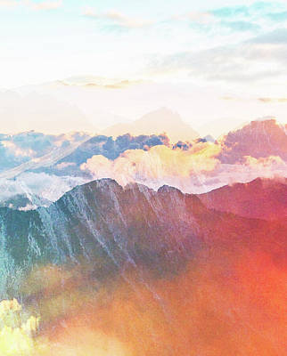 Mountain Glory Art Print