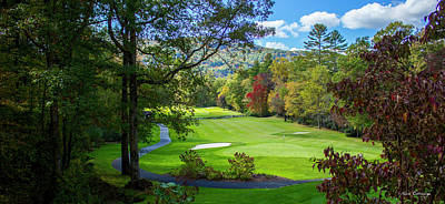 Photograph - Mountain Golf Country Club Of Sapphire Valley Great Smoky Mountains Art by Reid Callaway