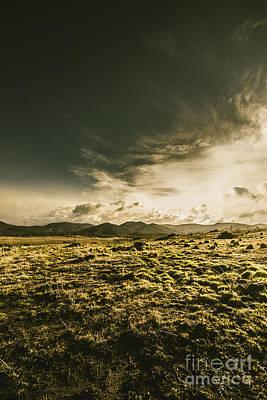 Avoca Photograph - Mountain Grassland by Jorgo Photography - Wall Art Gallery