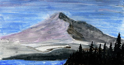 Painting - Mountain Gray by R Kyllo
