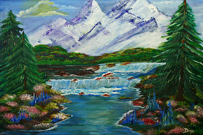Painting - Mountain High by Dina Jacobs
