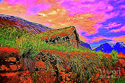 Photograph - Mountain Home 16218 by Ray Shrewsberry