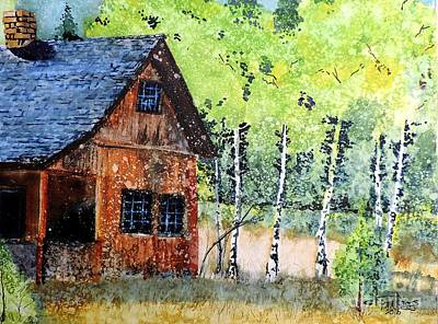 Painting - Mountain Home by Tom Riggs