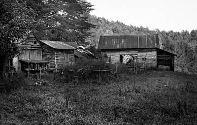 Barn Photograph - Mountain Homestead by Greg Mimbs